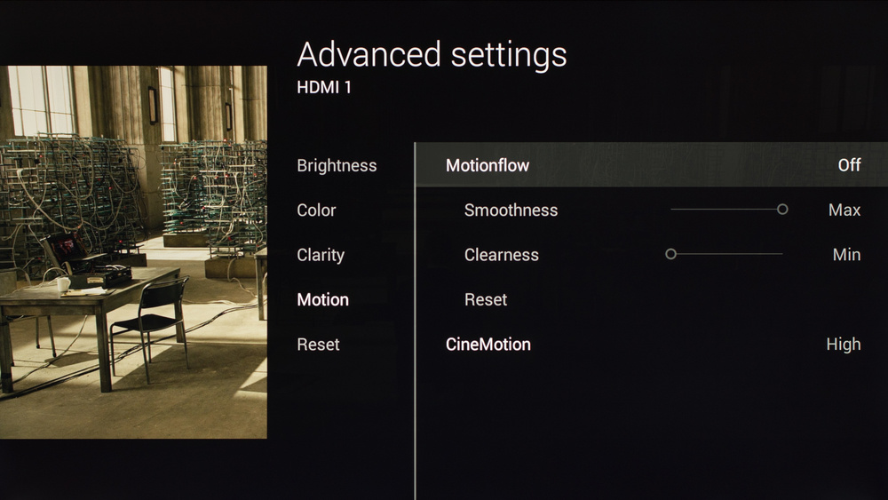 Sony X900C Calibration Settings 4