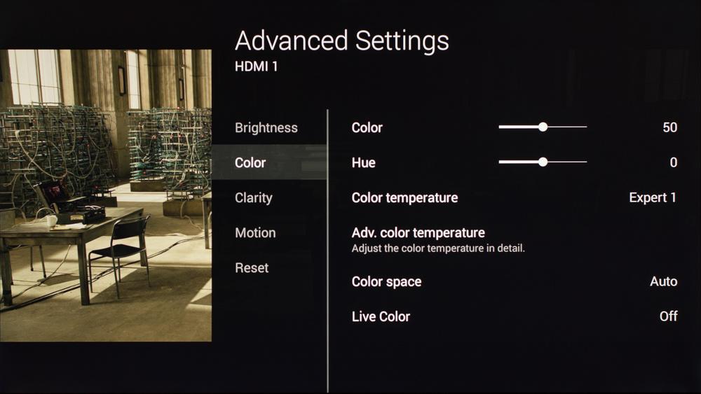 Sony X900C Calibration Settings 5