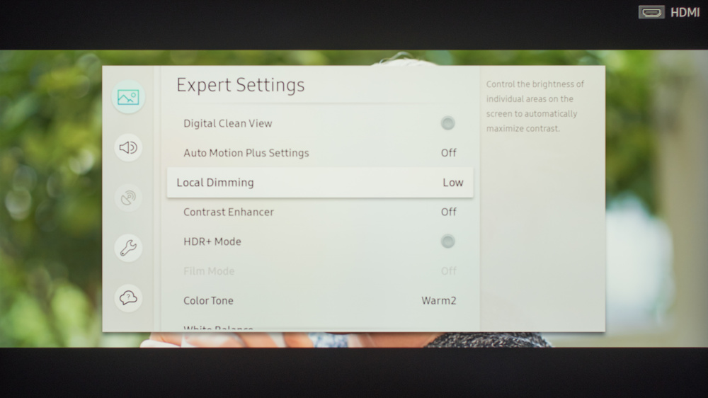 Samsung MU9000 Calibration Settings 9