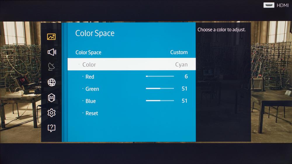 Samsung JU6400 Calibration Settings 10