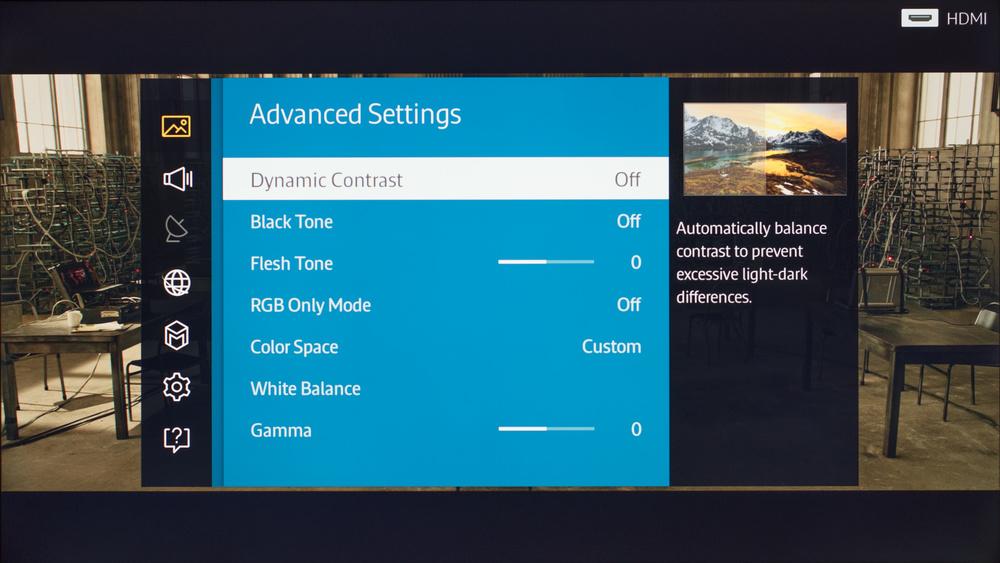 Samsung JU6400 Calibration Settings 2