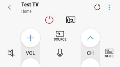 Samsung Q7FN Remote App Picture