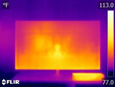 Samsung Q7FN Temperature picture