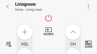 Samsung RU7300 Remote App Picture