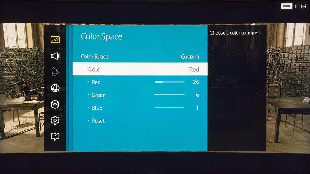 Samsung JS9500 Calibration Settings 4