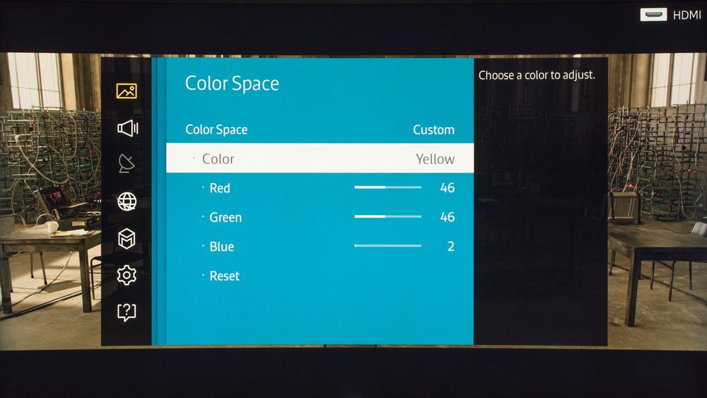 Samsung JS9500 Calibration Settings 7