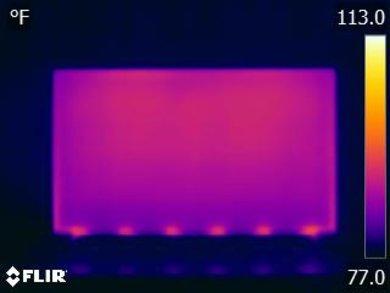 LG UK6300 Temperature picture