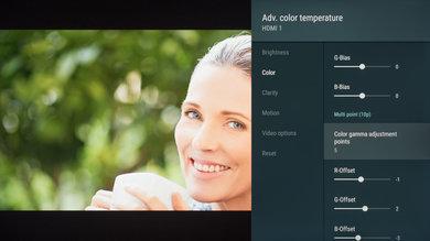 Sony X950G Calibration Settings 16