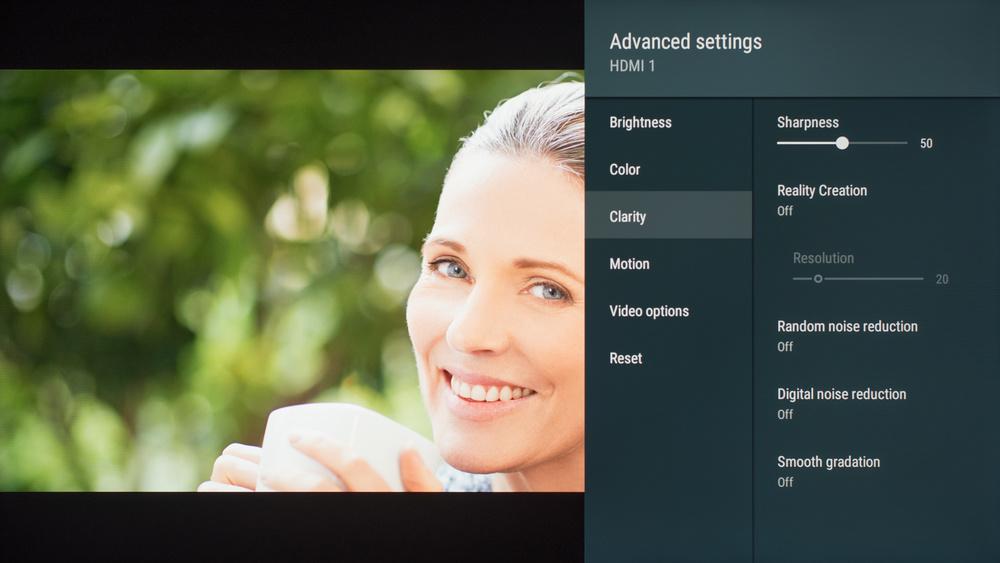 Sony X950G Calibration Settings 28