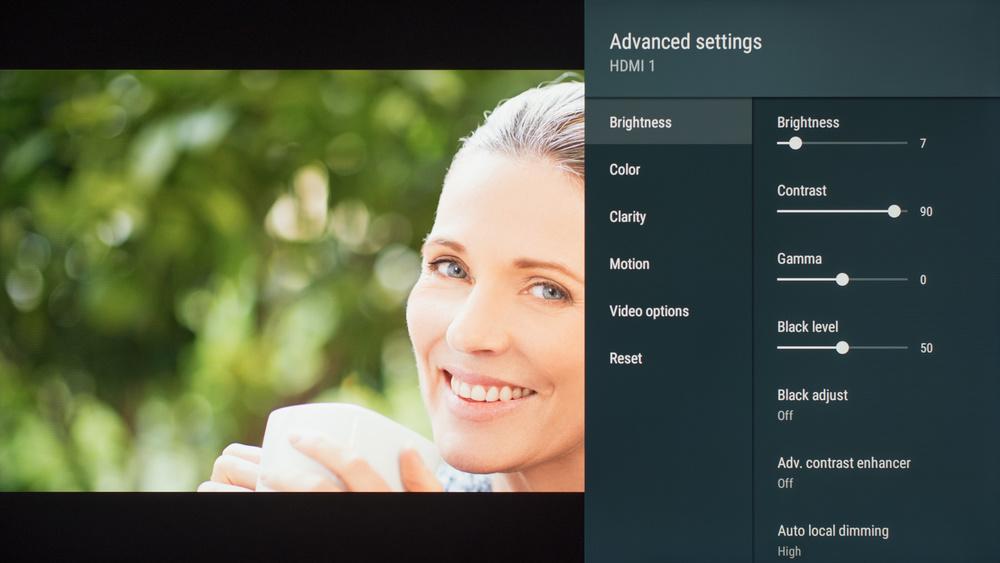 Sony X950G Calibration Settings 5