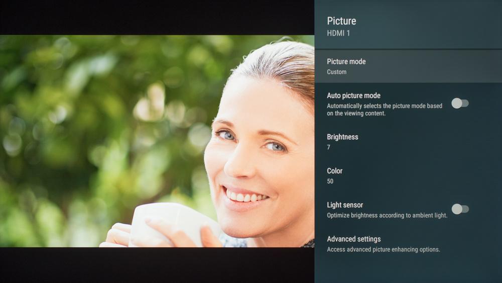 Sony X950G Calibration Settings 6