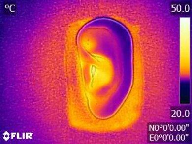 Sennheiser Momentum 2.0 On-Ear Breathability Before Picture