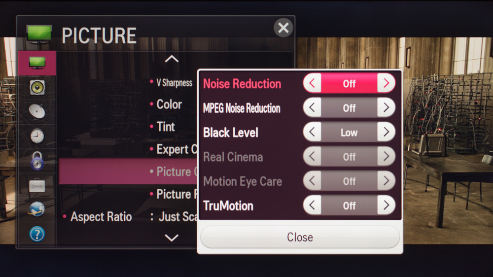LG LF5800 Calibration Settings 2