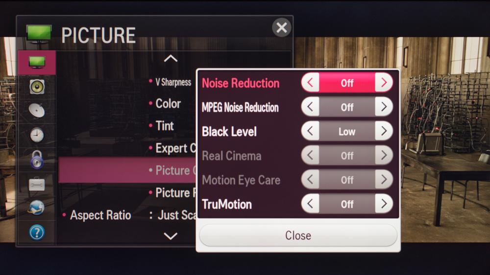 LG LF5800 Calibration Settings 2