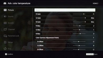 Sony X690E Calibration Settings 19