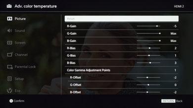 Sony X690E Calibration Settings 19