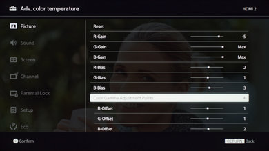 Sony X690E Calibration Settings 22