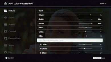 Sony X690E Calibration Settings 27