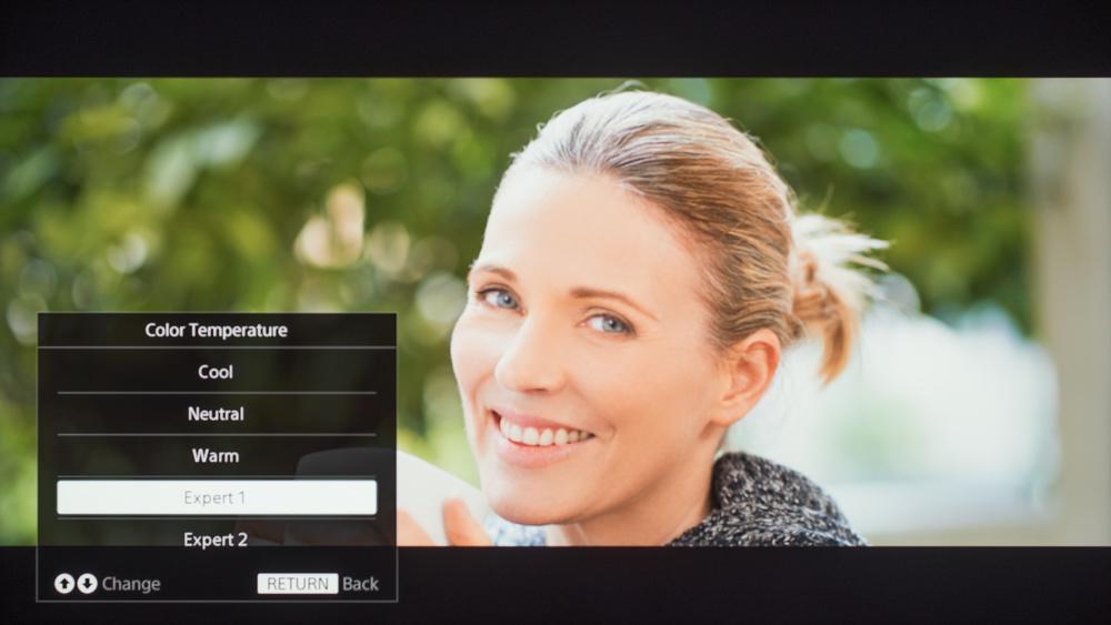 Sony X690E Calibration Settings 8