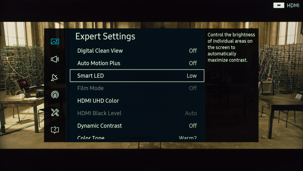 Samsung KS9000 Calibration Settings 3