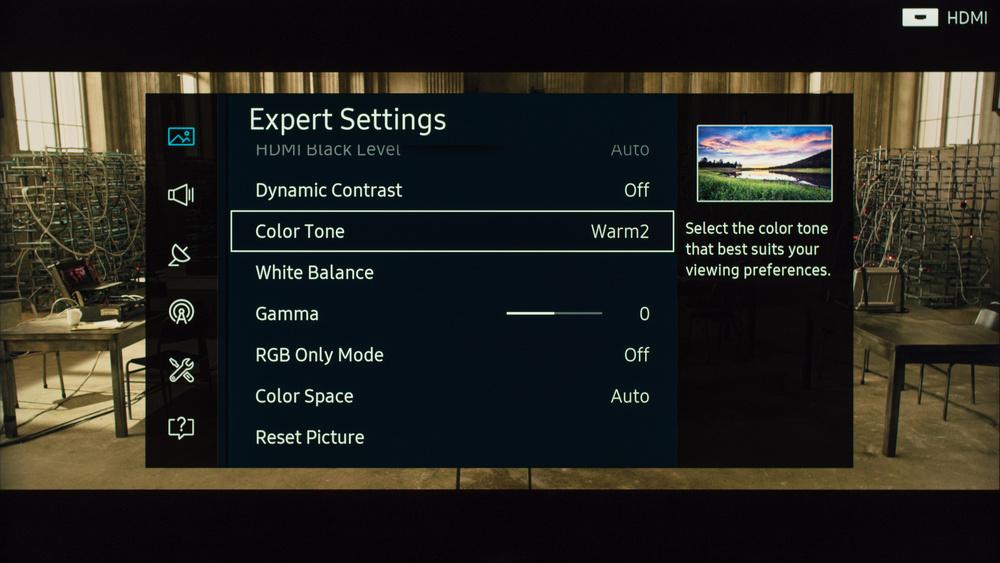 Samsung KS9000 Calibration Settings 4