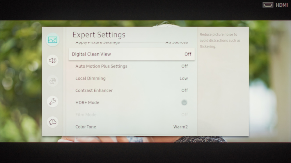 Samsung Q8FN Calibration Settings 9