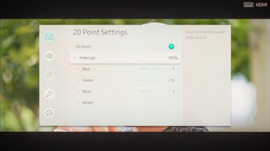 Samsung Q8FN Calibration Settings 90
