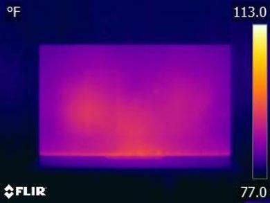 Sony A8F Temperature picture