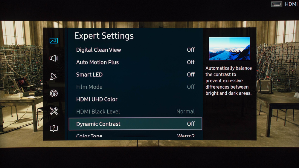 Samsung KS8500 Calibration Settings 3