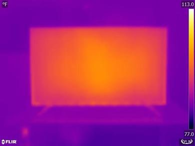 Hisense H8F Temperature picture
