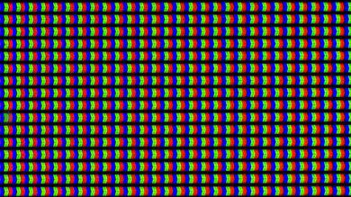 LG UF7600 pixels purple
