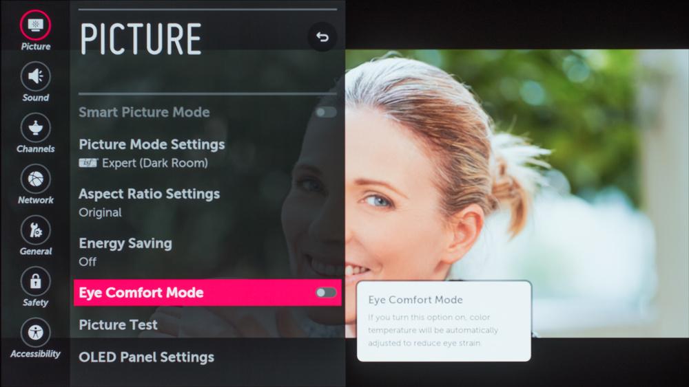 LG E7 OLED Calibration Settings 5