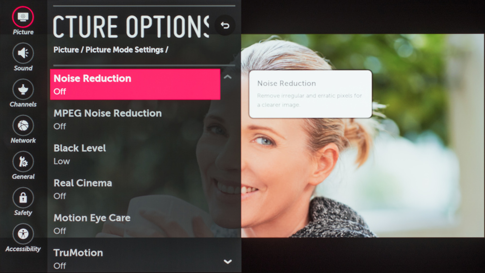 LG E7 OLED Calibration Settings 62