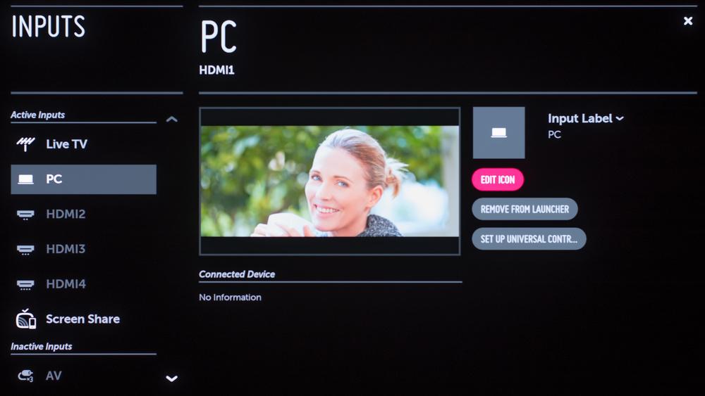 LG E7 OLED Calibration Settings 73