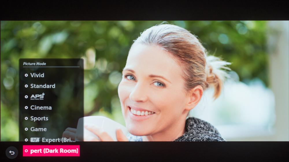 LG E7 OLED Calibration Settings 8