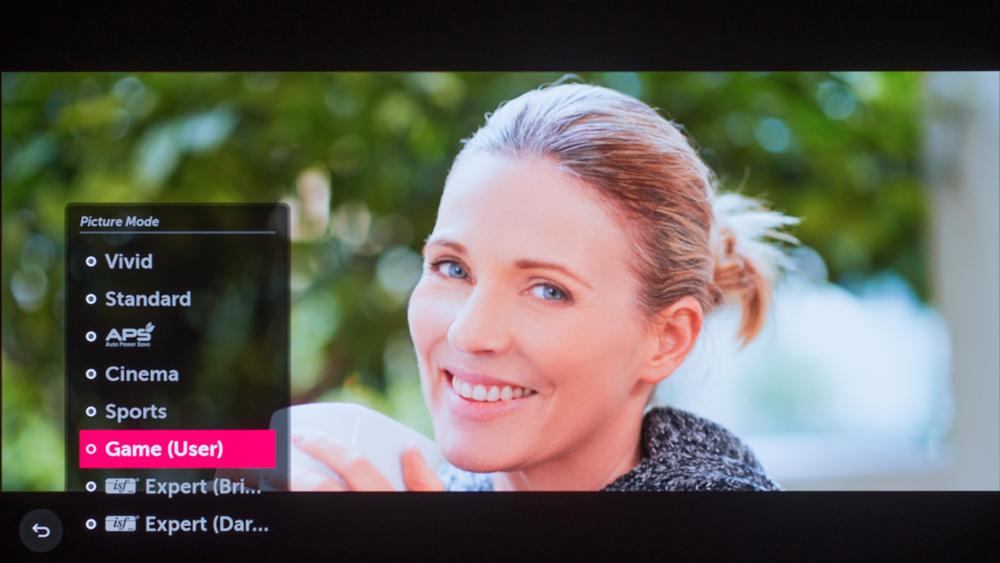 LG E7 OLED Calibration Settings 9
