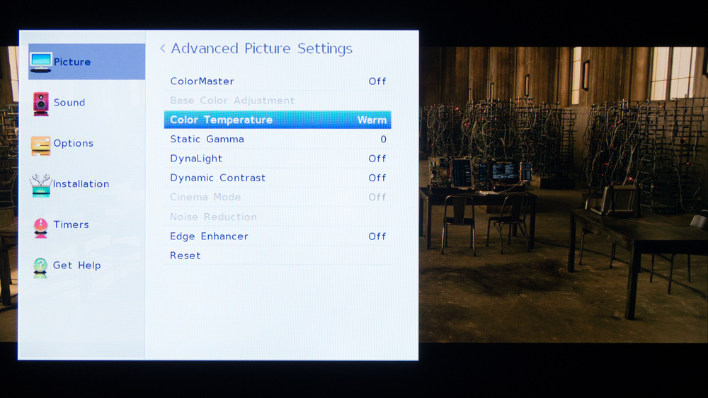 Toshiba L1400U Calibration Settings 2