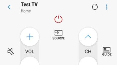 Samsung NU7100 Remote App Picture