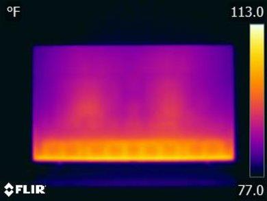 Samsung NU7100 Temperature picture
