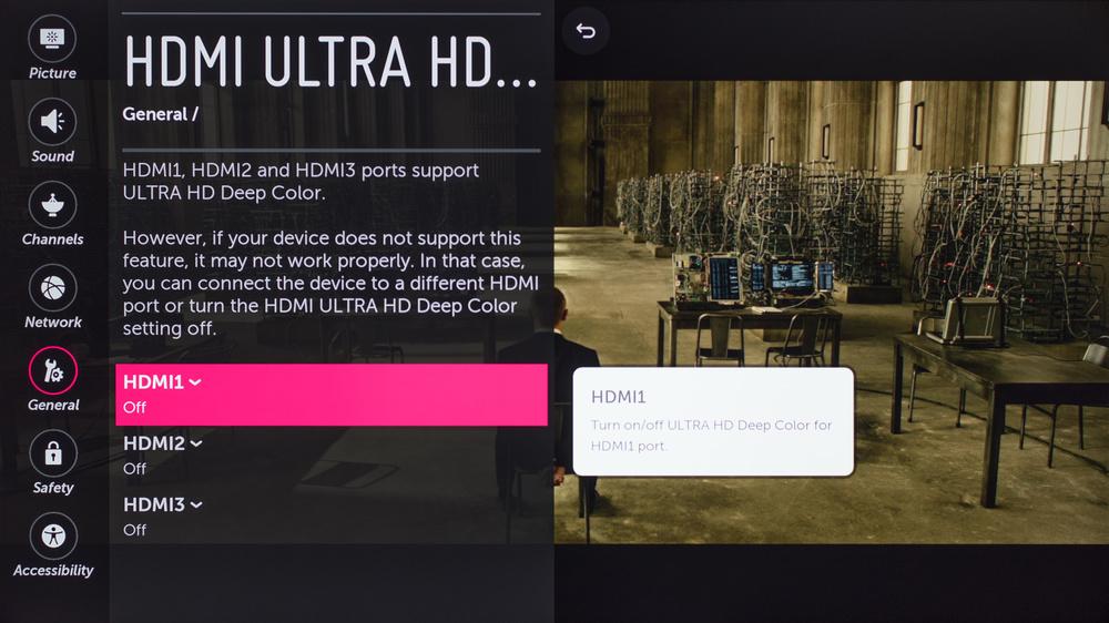 LG UH7700 Calibration Settings 34