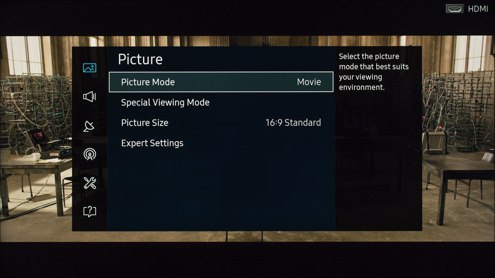 Samsung KU6300 Calibration Settings 1
