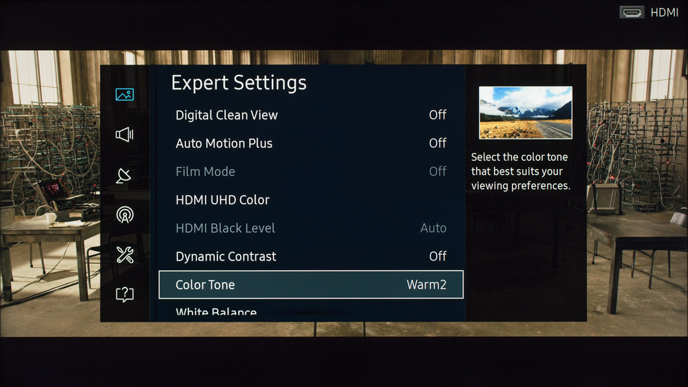 Samsung KU6300 Calibration Settings 3