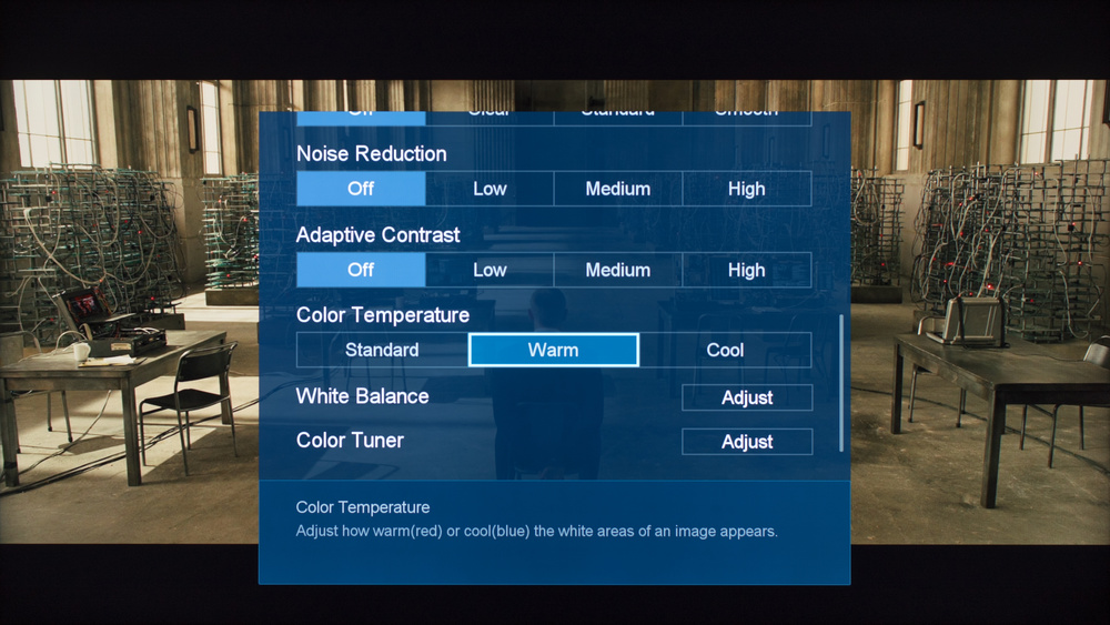 Hisense H8C Calibration Settings 4