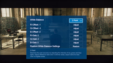 Hisense H8C Calibration Settings 5