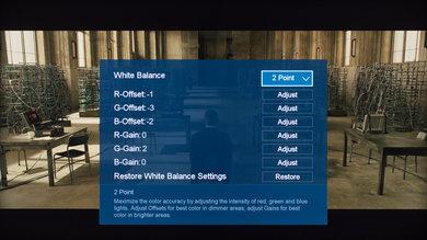 Hisense H8C Calibration Settings 5