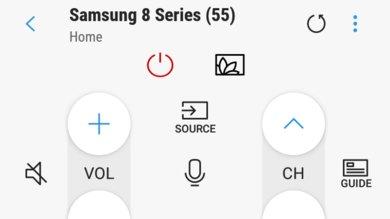 Samsung Q8FN Remote App Picture