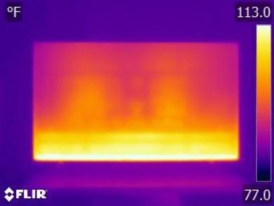 Samsung Q60/Q60R QLED Temperature picture
