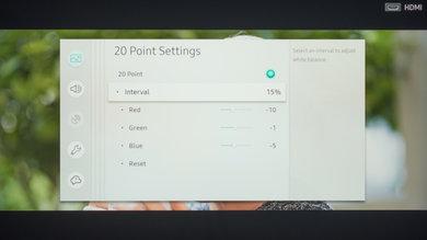 Samsung The Frame 2019 Calibration Settings 20