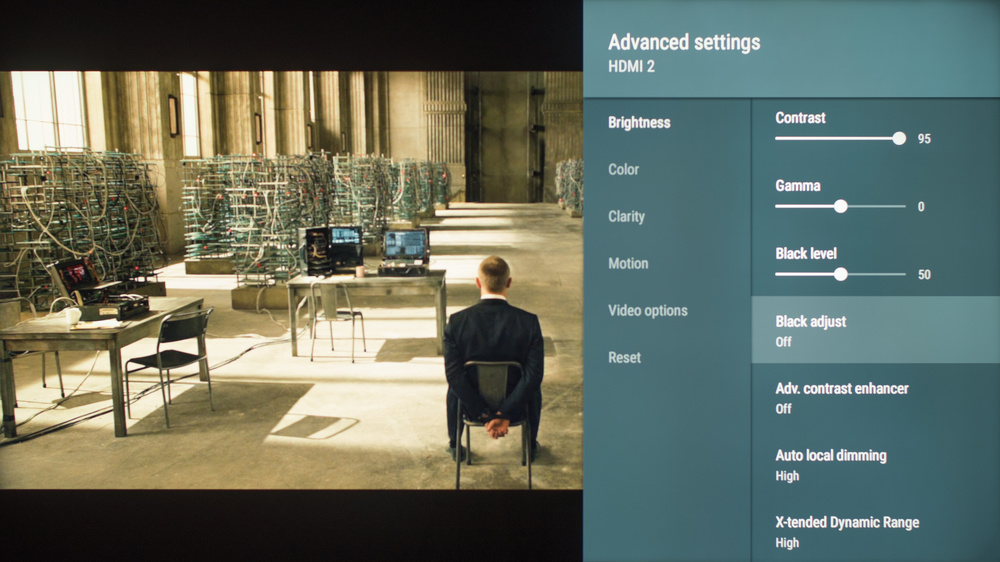 Sony X940E Calibration Settings 47