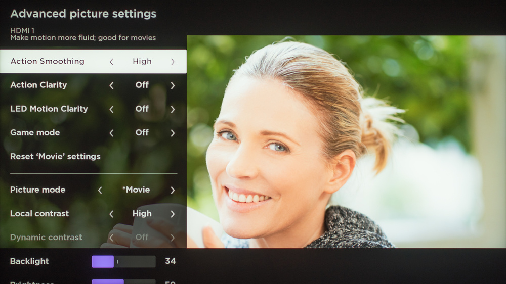 TCL 8 Series 2019/Q825 QLED Calibration Settings 7